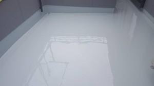ウレタン塗膜 2層目完了