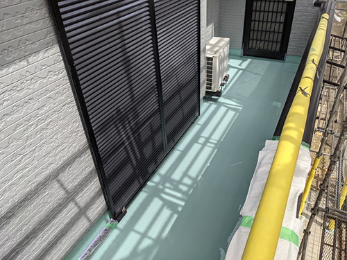 犬山市M様邸 高強度ウレタン塗膜 2層目完了