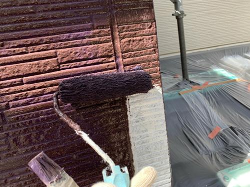 小牧市M様邸 下塗り 完了、中塗り